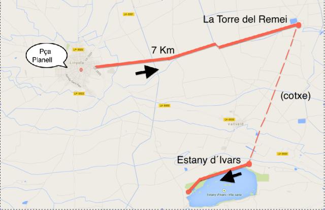 a- mapa excursio