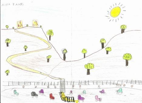 Les torretes. Dibuix (reduit)